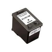 Cartucho Compatível P/ Tinta Hp D1460 21 Xl Deskjet F4180 D2460 Bk
