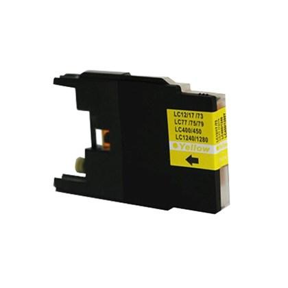 Cartucho de Tinta Compatível Brother LC79   LC75   Compatível - Amarelo - 18ml