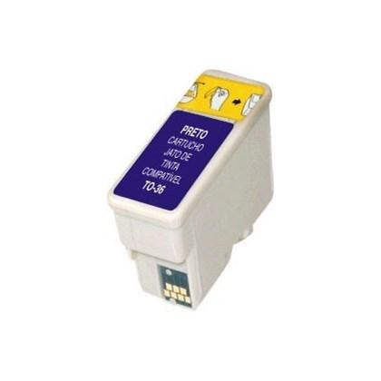 Cartucho de Tinta Compatível Epson T36 | Compatível - Preto - 10ml
