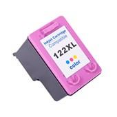 Cartucho de Tinta Compatível Hp 122XL | Colorido - Compatível - 17ml