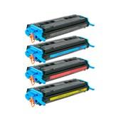 Kit 4 Cores Toner Compatível Q6000 6001 6002 6003 2600 1015